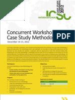 Concurrent Workshop on Case Study Methodology Brochure