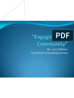 Engaging Your Community I