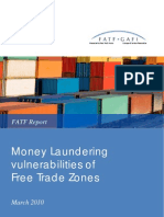 ML Vulnerabilities of Free Trade Zones
