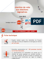 Intention de vote législatives - Le Parisien-0706