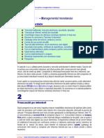 E-Business - Managementul Monetarului