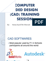 Computer Aided Design (Cad) Training Session