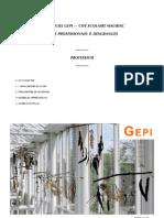 Didactitiel mauriac pour le logiciel Gepi