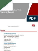 Huawe 2G&3G Driver Test Training V1.3