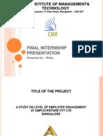 Final Internship Presentation