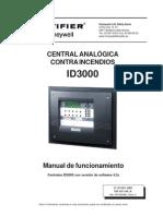 Manual Del Usuario Central Notifier Id3000