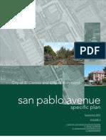 San Pablo Ave. Specific Plan Vol. II, Richmond/El Cerrito