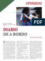 "Isabel De la Viña. ""Diario de a bordo"""