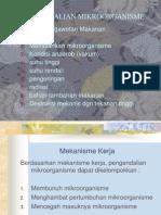 Pengendalian Microorganisme