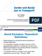 Why Gender and Social Inclusion in Transport