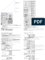 Aurora SC 582 Scientific Calculator Manual