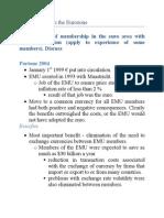 Eurozone Exam Notes