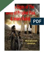 Twelve Signs of Army of Prophet Isa Imam Mahdi