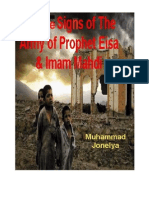 Twelve Signs of Army of Prophet Isa Imam Mahdi