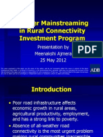 Gender Mainstreaming in Rural Connectivity Investment Program