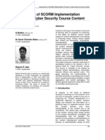27-Experiences of SCORM Implementation Process in Cyber Security Course Content-Rajesh-27