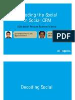 2020socialdecodingthesocialinsocialcrmworkshopmar2010-100304092003-phpapp02