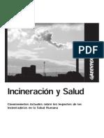 Incineracionysalud Humana