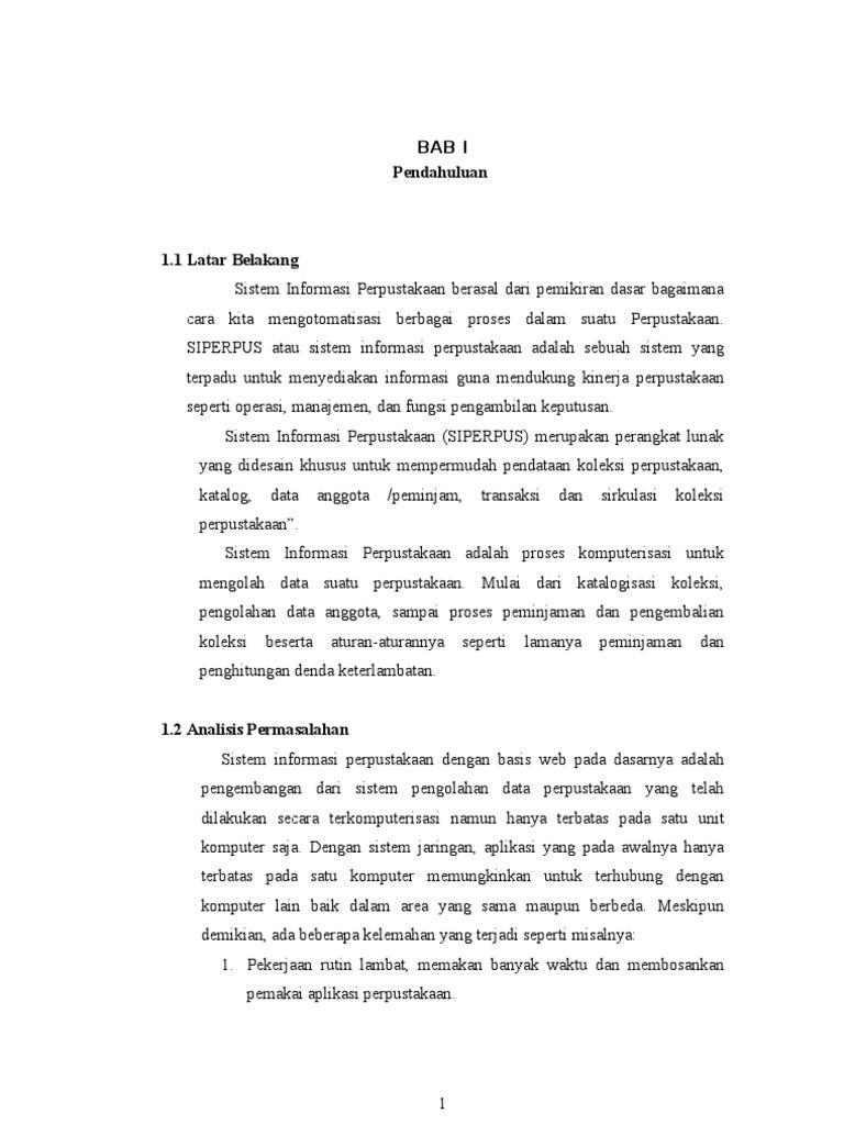Sistem informasi dan implementasi peminjaman buku perpustakaan nasional ccuart Gallery