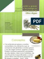 ACEITES DE OLIVA VÍRGENES Y REFINADOS