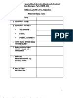 GAD Provider Reply Form 2012