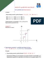 Reprezentarea Geometrica a Graficului Unei Functii