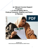 Policy Paper Benazir Income Support Programe1