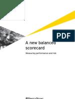 A New Balanced Scorecard