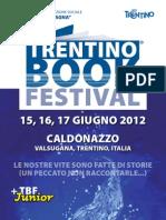 Caldonazzo, TrentinoBookfestival, 15-17 giugno 2012, programma