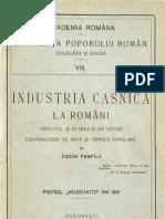 Industria-casnică-la-romani-Trecutul-şi-starea-ei-de-astăzi-Contribuţiuni-de-artă-şi-tehnică-populară
