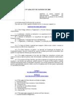 Código de Organização Judiciária do Estado de Alagoas (Lei Estadual no 6.564:2005) 2