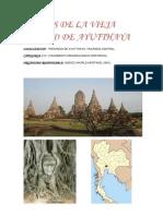 Ruinas de La Vieja Ciudad de Ayutthaya