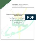 Investigacion Final PS Language Disorders