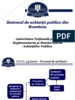 Documente-941 Sistemul Achizitiilor Publice Din Romania