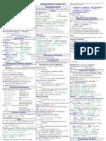 Abrégé Dense Python 3.2