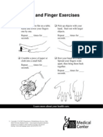 20021125 Hands and Finger Exercises for Piano
