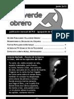 Villaverde Obrero - Número 12 - Junio 2o12