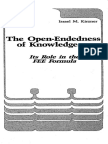 Kirzner - The Open-Endedness of Knowledge