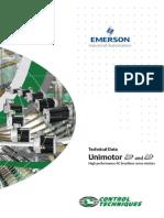 Unimotor Technical Data
