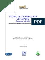Guia Técnicas de Busqueda de Empleo (2ª Edic.)