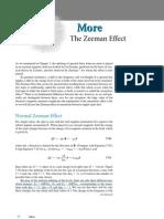 Zeeman Effect Note