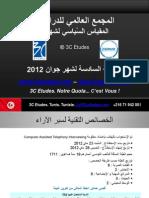 3C Etudes - Résultats baromètre politique 6è vague Tunisie