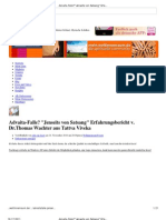 Advaita-Falle_ _Jenseits Von Satsang_ Erfahrungsbericht v. Dr.thomas Wachter Aus Tattva Viveka - Mein.weltinnenraum Community