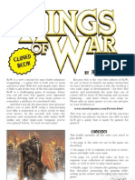 Kings of War Closed Beta Rules