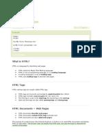 HTML Tutorial