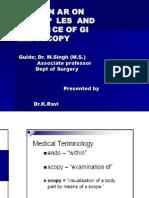 Principles and Practice of GI Endoscopy