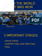 How the World Cup Was Won