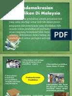 Ppt Pendemokrasian & Reformasi Pendidikan Di Malaysia