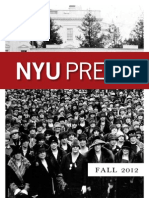 NYU Press | Fall 2012 Catalog