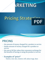 Marketing Pricing